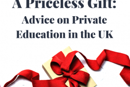 priceless gift; private education; advice